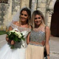Mélanie Da Cruz sublime pour le mariage de sa meilleure amie Myriam