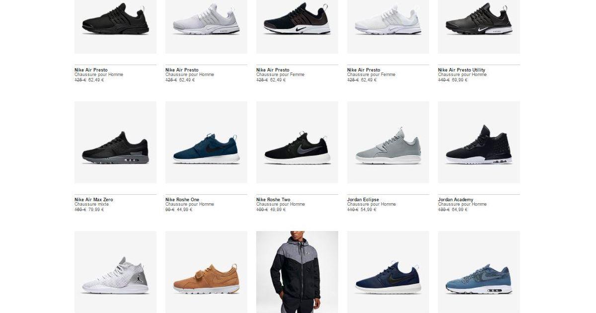 Air Max 1, Jordan, Air Max Zero ou 90 Nike casse ses prix