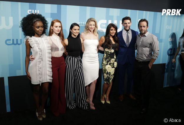 Riverdale saison 2 : Luke Perry et le cast au CW Upfront à New York ce jeudi 18 mai