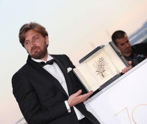 Ruben Östlund récompensé de la Palme d'Or au Festival de Cannes 2017 pour The Square