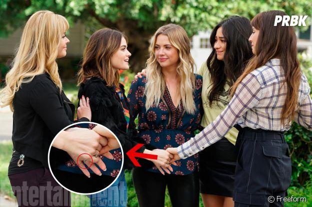 Pretty Little Liars saison 7 : Aria et Ezra mariés ? La photo qui prouve que oui