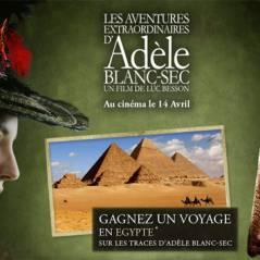 Adèle Blanc Sec ...  la chasse au ptérodactyle est lancée