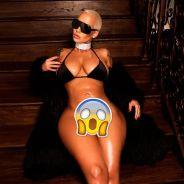 Amber Rose nue sur une photo : elle montre ses parties intimes et affole le web