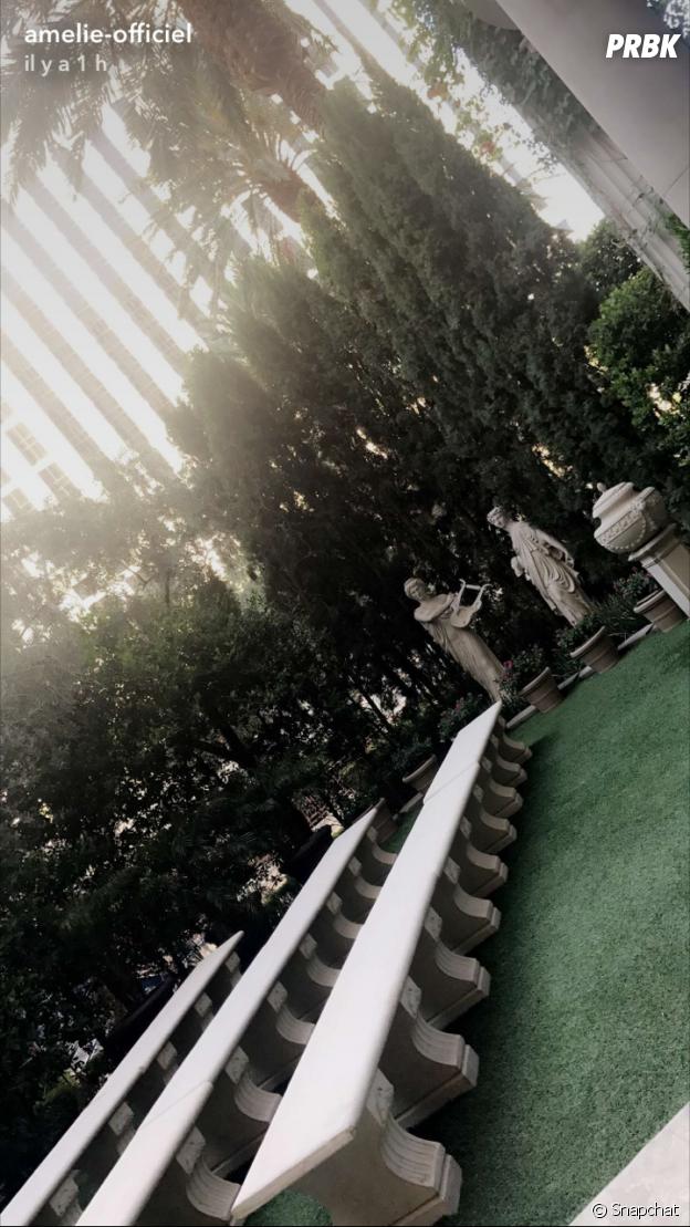 Amélie Neten en direct de Las Vegas sur Snapchat