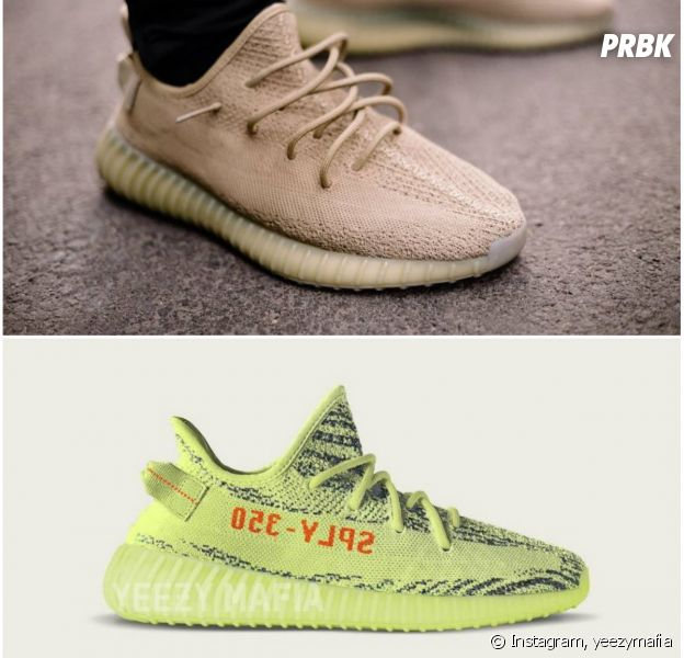 adidas yeezy jaune fluo