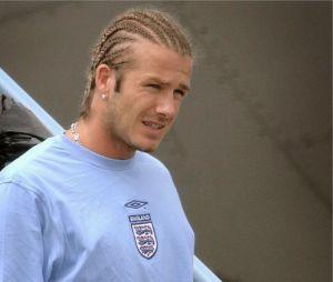 David Beckham avant sa trasformation