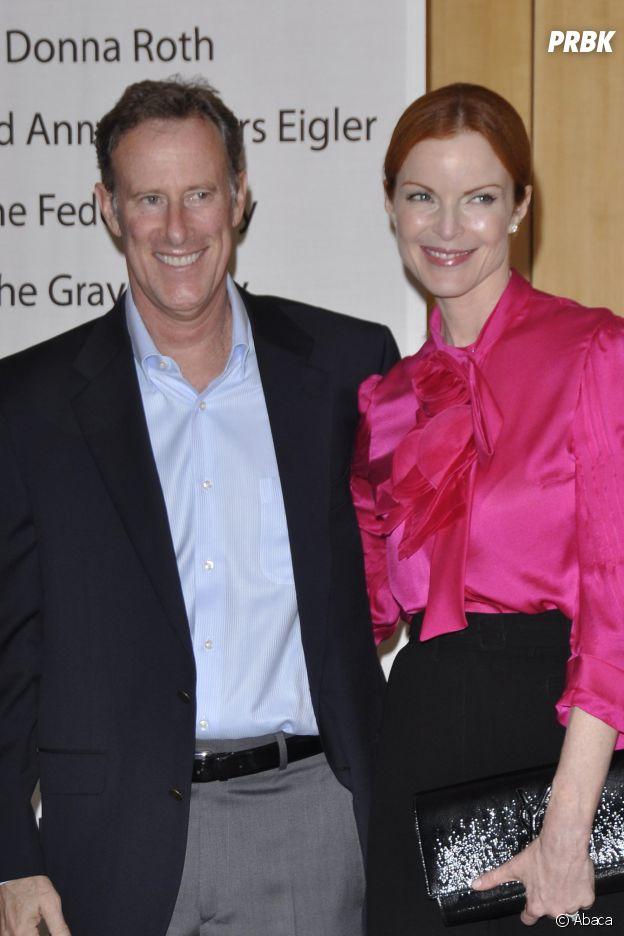 Marcia Cross (Desperate Housewives) et son époux Tom Mahoney