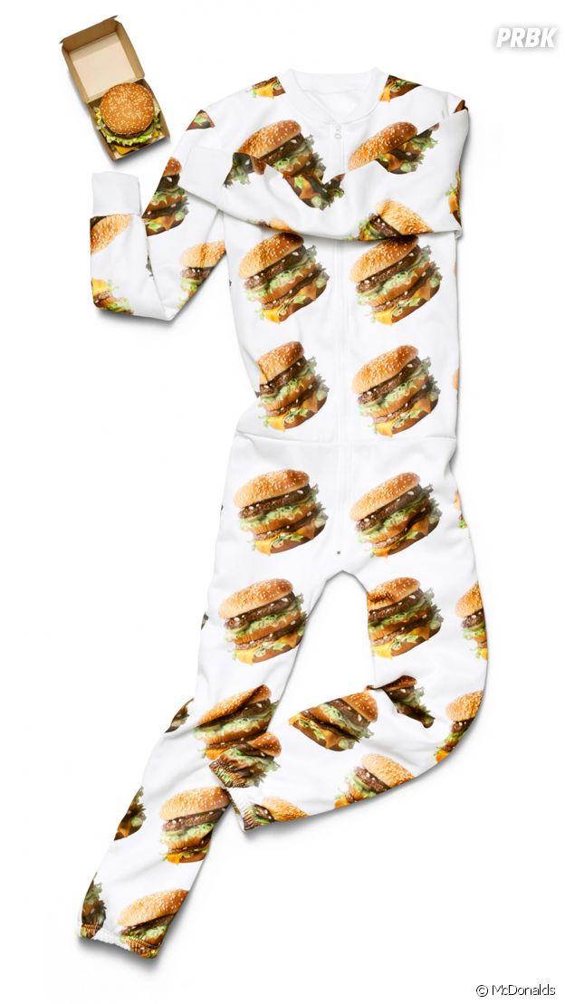 McDonalds : le pyjama Big Mac