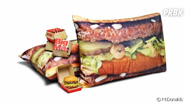 McDonalds : le coussin Big Mac