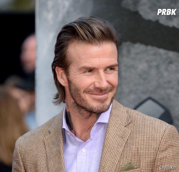 David Beckham signe un autographe à un endroit improbable
