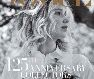 Jennifer Lawrence en couverture du magazine Vogue pour septembre 2017