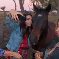 Nabilla : son selfie avec un cheval dégénère... sa réaction est à mourir de rire !