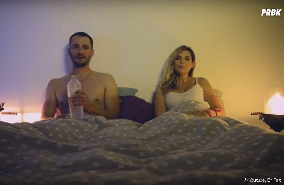 """Léa Camilleri et Vincent Scalera, très drôles dans la websérie """"En Fait"""""""