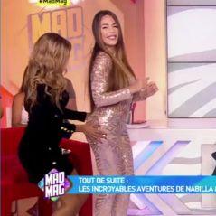 Kim Glow ose la combi ultra moulante à la Beyoncé dans le Mad Mag, Maeva lui tripote les fesses
