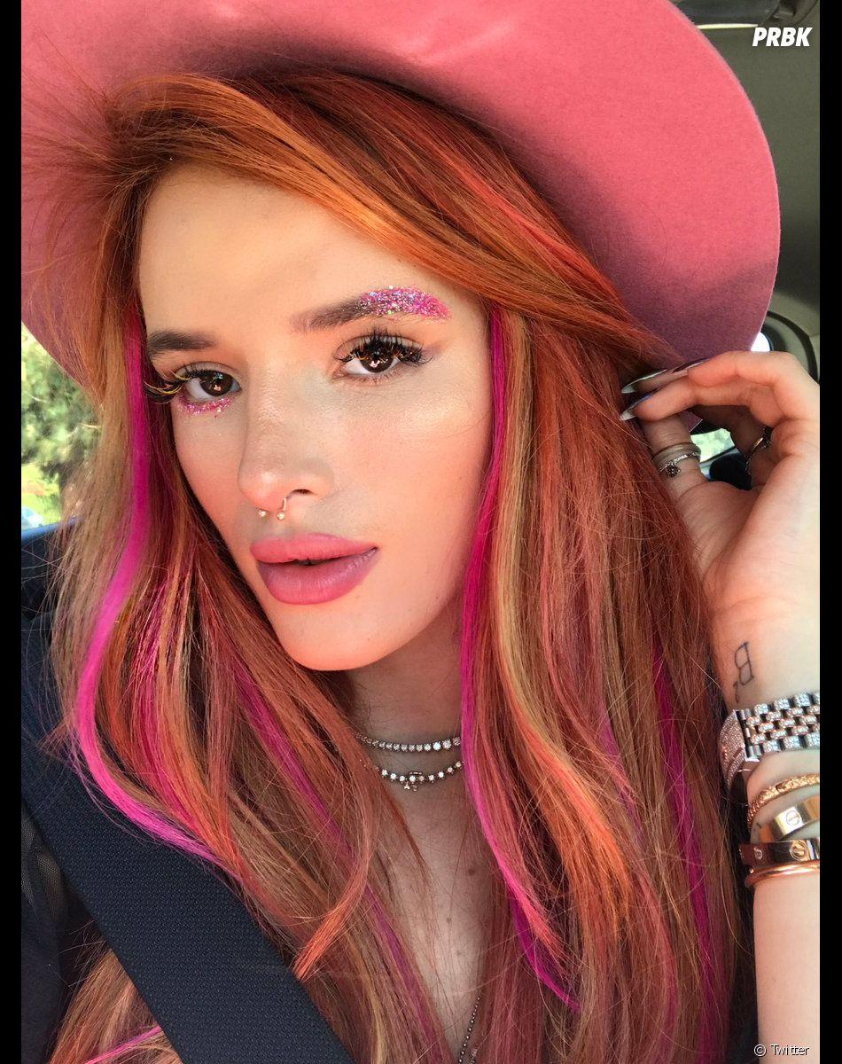 Bella Thorne avec ou sans maquillage, ça n'a rien à voir