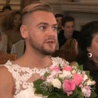 Jeremstar en robe de mariée à son mariage solo  il assume son choix  critiqué et