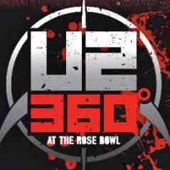 U2 ... un nouveau teaser de leur DVD live ... 360 At The Rose Bowl