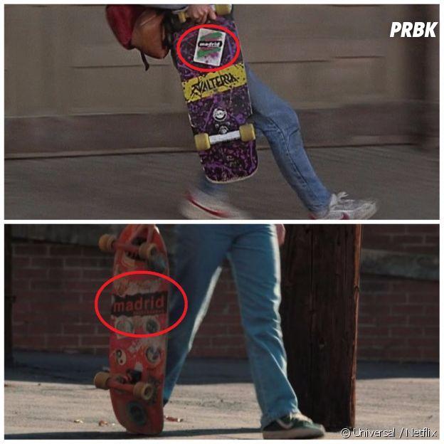 Stranger Things saison 2 : le skateboard de Mad Max fait référence à celui de Marty McFly dans Retour vers le futur !