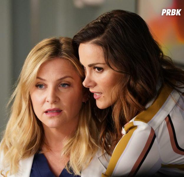 """Grey's Anatomy saison 14 : de l'espoir pour Arizona et Carina ? """"Ne croyez pas que l'histoire d'amour est terminée"""""""