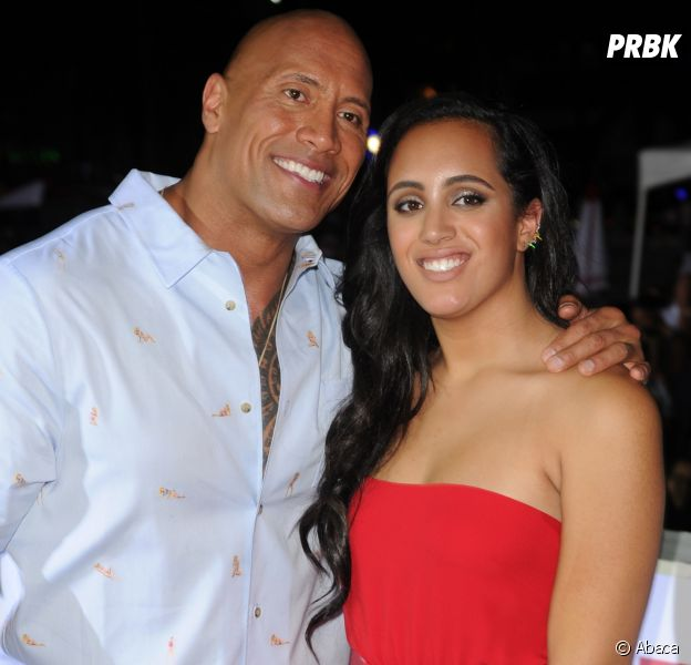 "Dwayne Johnson (The Rock) ""très fier"" de sa fille Simone : elle suit les pas de son papa !"