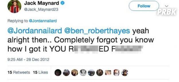 Un youtuber viré d'une TV-réalité après des tweets racistes et des propos déplacés avec une fan de 14 ans