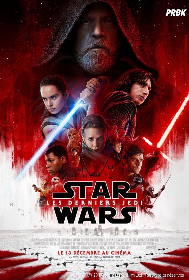Concours Star Wars les derniers jedi.