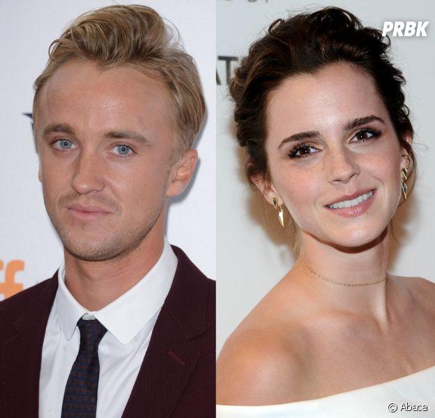 Harry Potter : Emma Watson (Hermione Granger) craquait pour Tom Felton (Drago Malefoy), mais il ne le savait pas !