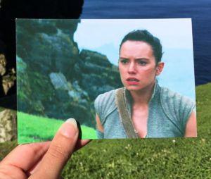 Star Wars 7 : une fan se rend sur les lieux de tournage pour faire des photos stylées !