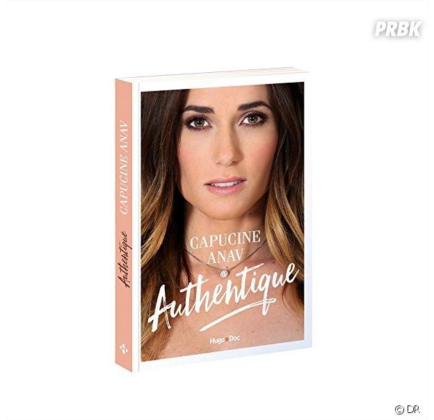Capucine Anav : la couverture de son livre Authentique