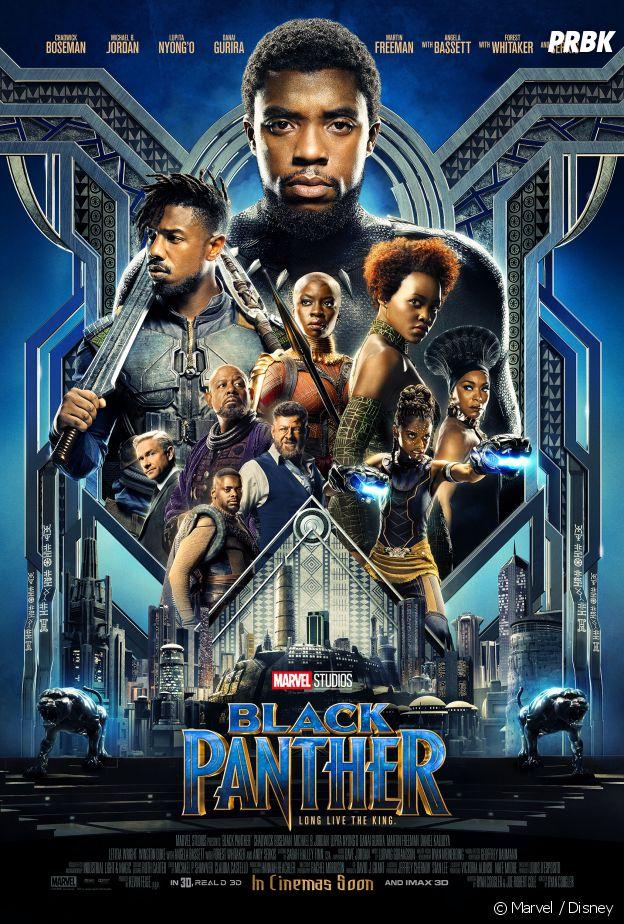 Black Panther l'affiche du film