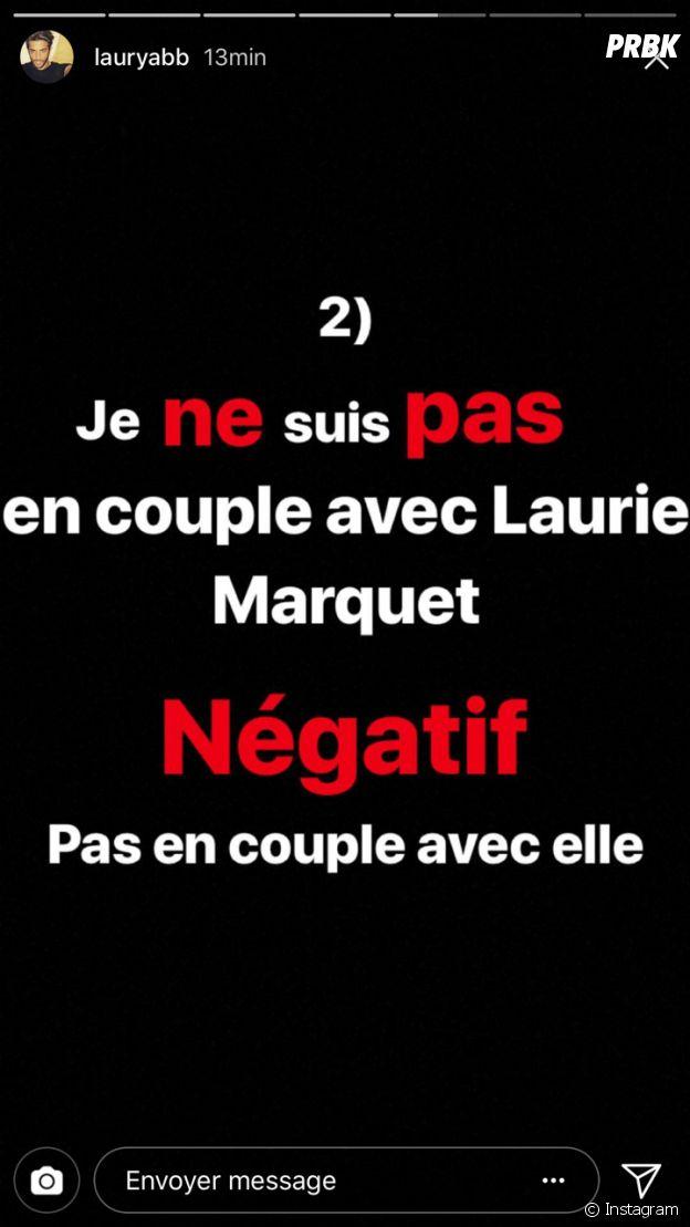 Laury (Les Princes et les princesses de l'amour) avoue ne pas être en couple avec Laurie Marquet