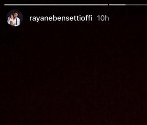 Rayane Bensetti au plus mal : il partage sa peine avec ses abonnés
