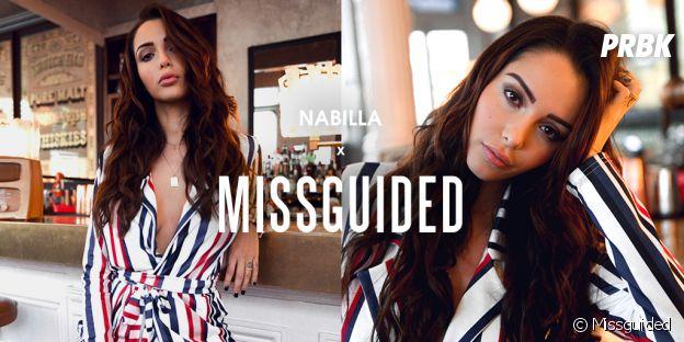 Nabilla x Missguided : une collab sexy et intemporelle pour Nabilla Benattia !