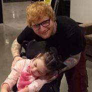 """Ed Sheeran rend visite à une enfant malade : """"Il est humble et adorable"""""""