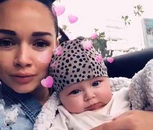 Jazz (La Villa 3) maman : elle s'affiche sur Snapchat avec sa fille Chelsea