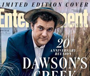 Joshua Jackson pose pour les retrouvailles de Dawson pour fêter les 20 ans de la série