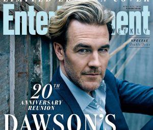 James Van Der Beek pose pour les retrouvailles de Dawson pour fêter les 20 ans de la série
