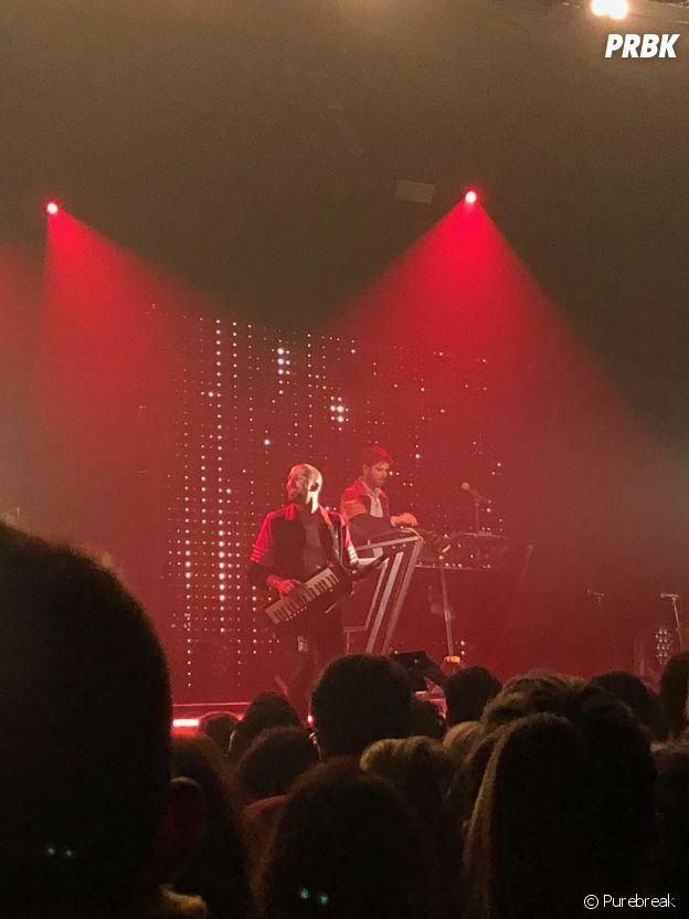 Synapson sur la scène de l'Elysée Montmartre ce 5 avril 2018