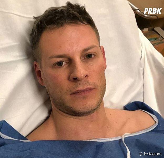 """Matthieu Delormeau à l'hôpital après un accident de moto : """"La vie peut basculer si vite"""" !"""