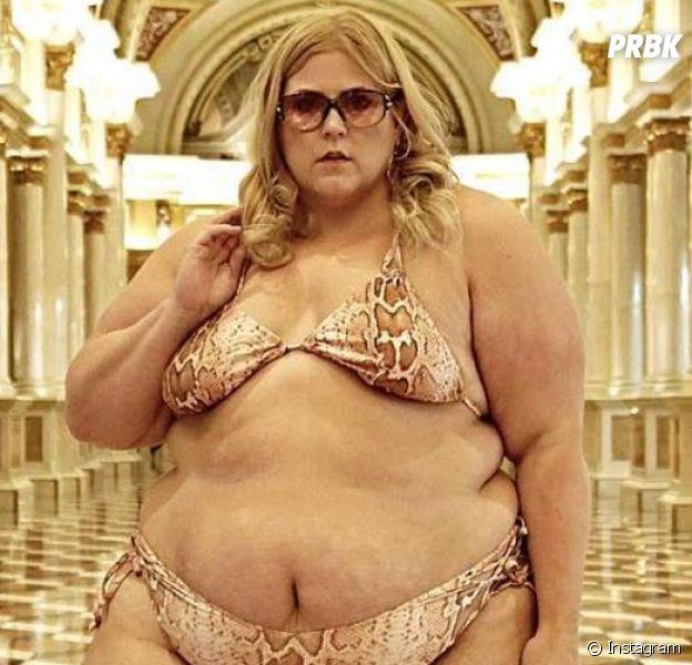La blogueuse grande taille Anna O'Brien alias @glitterandlazers obligée de se rhabiller à cause de son poids ? Elle réagit !