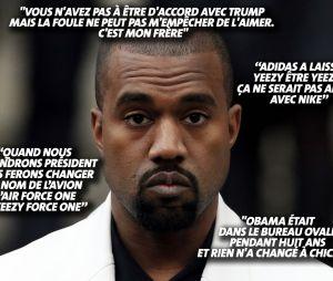 Kanye West tacle Obama, encense Donald Trump... Ses tweets délirants font même réagir sa femme Kim Kardashian !