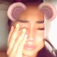 """Astrid Nelsia en pleurs après son opération de chirurgie esthétique : """"Je n'ai pas la force"""""""