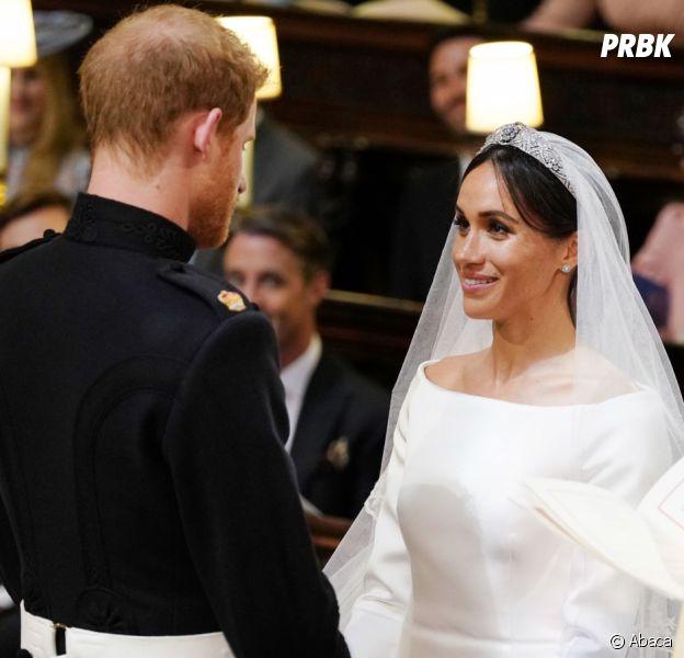 Mariage de Meghan Markle et du Prince Harry  une robe de mariée  éblouissante et une