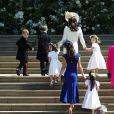 Kate Middleton et les enfants d'honneur au mariage de Meghan Markle et du Prince Harry.