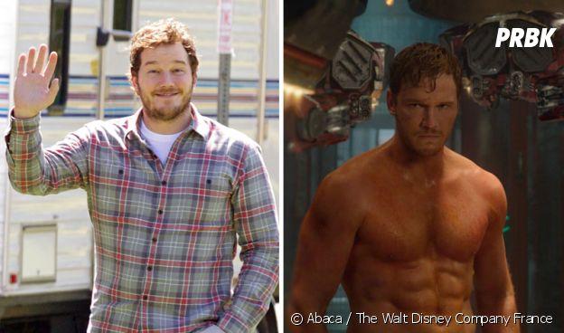 Chris Pratt : son avant/après impressionnant