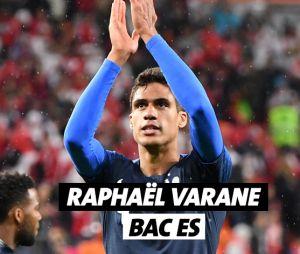 Raphaël Varane a un bac ES