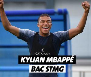 Kylian Mbappé a un bac STMG