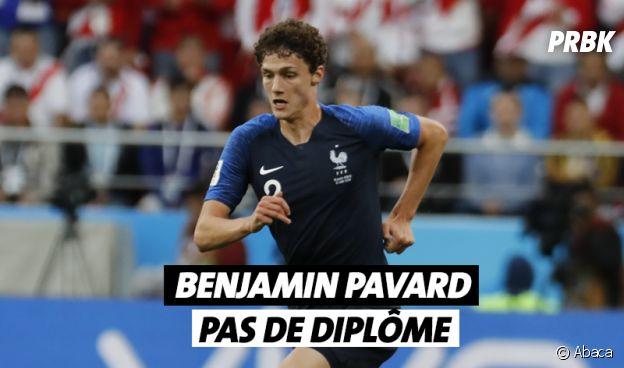 Benjamin Pavard n'a pas de diplôme