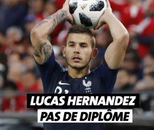 Lucas Hernandez n'a pas de diplôme