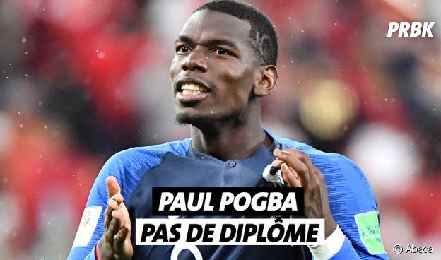 Paul Pogba n'a pas de diplôme